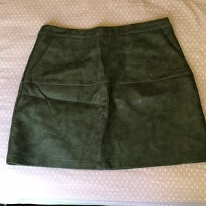 Lf leather skirt never worn